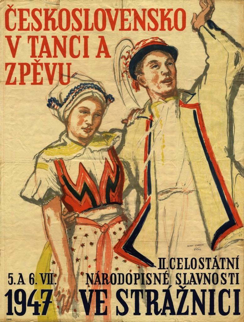 Plakát MFF 1947