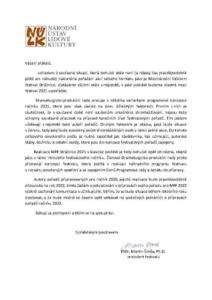 e Dopis prezident MFF 2021